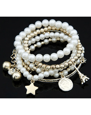 Lot de bracelet fashion perles